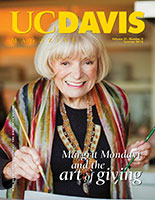 Cover photo: portrait of Margrit Mondavi painting a watercolor